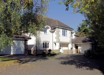 Thumbnail 4 bed detached house for sale in Strachey Close, Tidmarsh, Reading