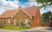 Thumbnail 2 bed detached bungalow for sale in Butterfield Meadow, Hunstanston, Norfolk