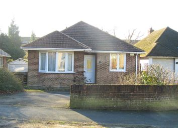 Thumbnail 3 bed detached bungalow for sale in Montgomery Road, Southampton
