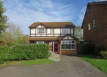 Thumbnail 4 bedroom detached house for sale in Marjoram Close, Northampton