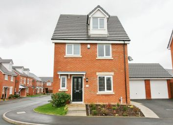 Thumbnail 4 bed detached house for sale in Cotton Fields, Walkden, Manchester
