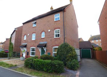 Thumbnail 3 bed town house for sale in East Water Crescent, Hampton Vale, Peterborough