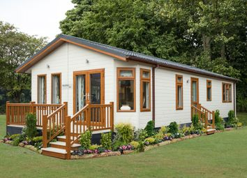 Thumbnail 2 bed lodge for sale in English Drove, Thorney, Peterborough, Cambridgeshire