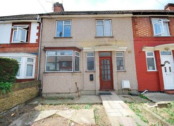Thumbnail 3 bed terraced house to rent in Bamford Avenue, Wembley, Middlesex