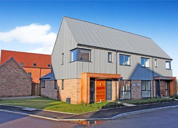 Thumbnail 3 bed semi-detached house for sale in St. Wandrille Close, Poringland, Norwich, Norfolk