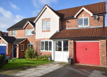 Thumbnail 3 bed detached house for sale in Freshpool Way, Sharston, Manchester