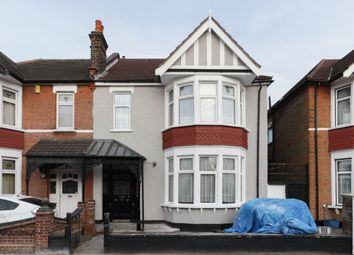 Thumbnail 4 bed semi-detached house for sale in Woodstock Gardens, Goodmayes, Ilford