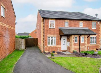 Thumbnail 3 bed semi-detached house for sale in Appletree Lane, Brockhill, Redditch