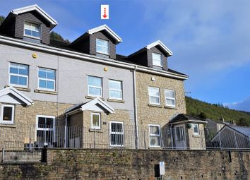 Thumbnail 4 bed terraced house for sale in High Street, Ogmore Vale, Bridgend, Bridgend County.