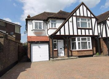 Thumbnail 4 bedroom detached house to rent in Edgwarebury Lane, Edgware, Middlesex