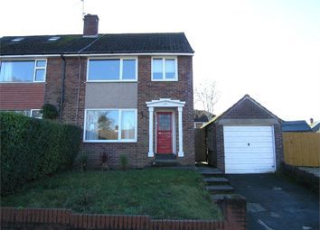 Thumbnail 3 bed semi-detached house to rent in Ogwen Drive, Cyncoed, Cardiff