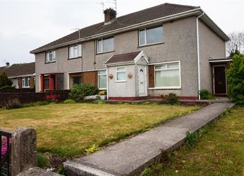 Thumbnail 2 bed flat for sale in Heol Y Parc, North Cornelly, Bridgend