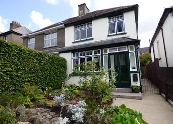 Thumbnail 3 bedroom semi-detached house for sale in Exeter Road, Okehampton