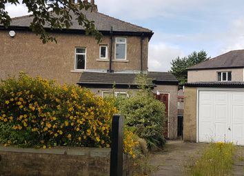 Thumbnail 1 bedroom semi-detached house to rent in Moorside Road, Bradford