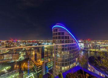 Thumbnail 2 bed flat to rent in Charrington Tower, 11 Biscayne Avenue, London