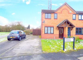 Thumbnail 2 bed end terrace house for sale in Consort Gardens, Oakwood, Derby