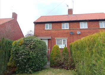 Thumbnail 2 bed semi-detached house to rent in Postern Crescent, Morpeth