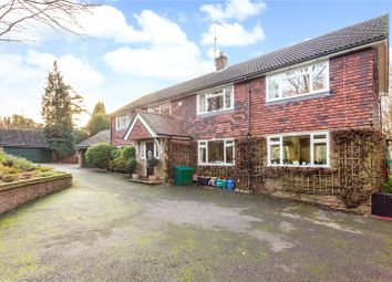Thumbnail 4 bed detached house for sale in Marley Lane, Haslemere, Surrey