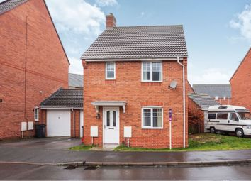 Thumbnail 3 bed detached house for sale in Endeavour Road, Swindon