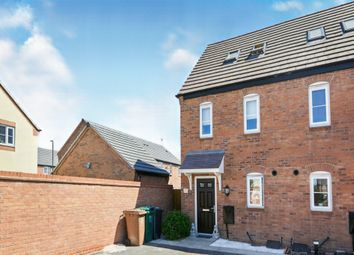 Thumbnail 3 bed semi-detached house for sale in Chilham Way, Boulton Moor, Derby