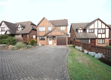 Thumbnail 4 bed detached house for sale in Sambrook Crescent, Market Drayton