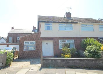 Thumbnail 3 bed semi-detached house for sale in Kings Road, Crosby, Merseyside
