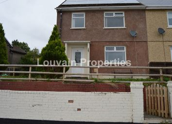 Thumbnail 3 bed semi-detached house to rent in Graig Ebbw, Rassau, Ebbw Vale, Blaenau Gwent.