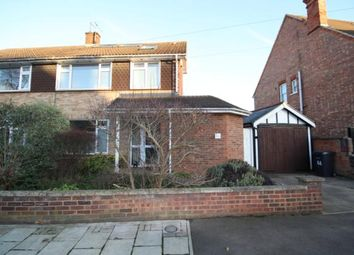 Thumbnail 4 bed semi-detached house to rent in Beverley Crescent, Bedford