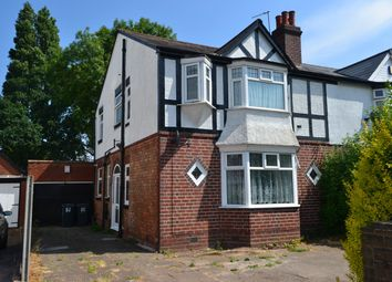 Thumbnail 3 bedroom semi-detached house for sale in Woodlands Road, Sparkhill, Birmingham