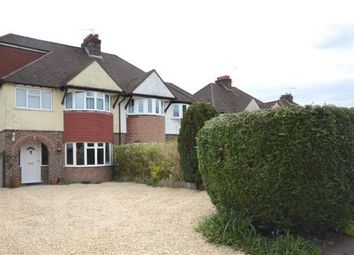 Thumbnail 4 bedroom semi-detached house for sale in Weybourne Road, Farnham, Surrey
