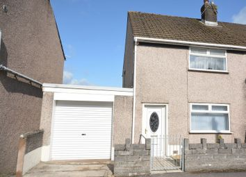 Thumbnail 2 bed semi-detached house for sale in Penydre, Neath