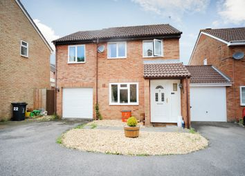 Thumbnail 4 bed detached house for sale in Marigold Close, Swindon