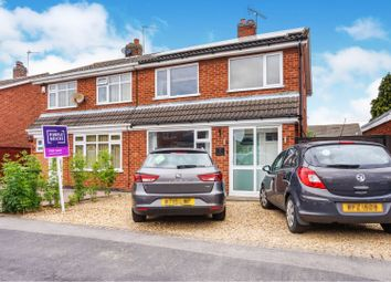 Thumbnail 3 bed semi-detached house for sale in Greensward, East Goscote