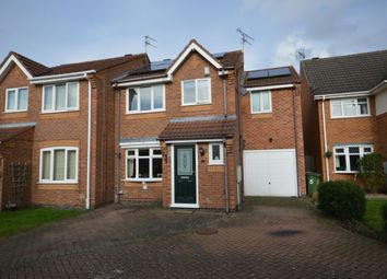 Thumbnail 3 bed semi-detached house for sale in Flamingo Drive, Whetstone, Leicester