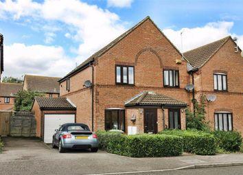 Thumbnail 2 bed semi-detached house to rent in Coggeshall Grove, Wavendon Gate, Milton Keynes, Bucks