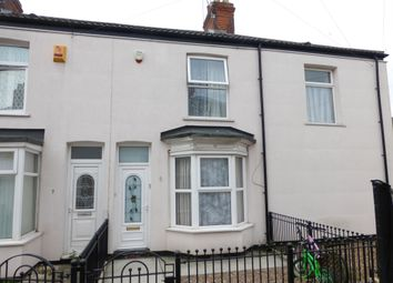 Thumbnail 2 bed terraced house for sale in Cuthbert Avenue, Airlie Street, Hull