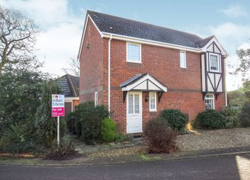 Thumbnail 3 bed detached house for sale in Grasmere, Hethersett, Norwich
