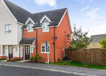 Thumbnail 2 bed semi-detached house for sale in Great Waldingfield, Sudbury, Suffolk