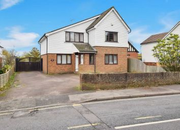 Thumbnail 4 bed detached house for sale in Church Road, Willesborough, Ashford