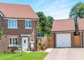 Thumbnail 3 bedroom semi-detached house for sale in Kentford, Newmarket, Suffolk
