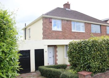 Thumbnail 3 bed semi-detached house for sale in Litchaton Crescent, Woodford, Plympton, Plymouth