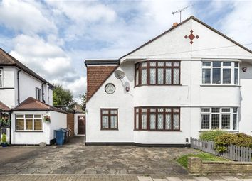 Thumbnail 4 bed semi-detached house for sale in Wimborne Drive, Pinner, Middlesex