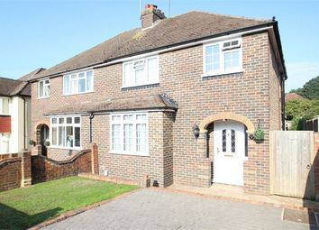 Thumbnail 3 bed semi-detached house for sale in Rydes Hill Road, Guildford, Surrey