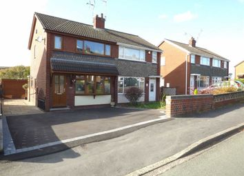 Thumbnail 3 bed semi-detached house for sale in Fearns Avenue, Bradwell, Newcastle-Under-Lyme