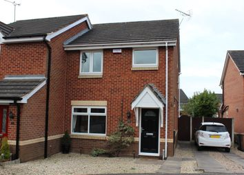 Thumbnail 3 bed semi-detached house for sale in Whitehead Close, Shipley View