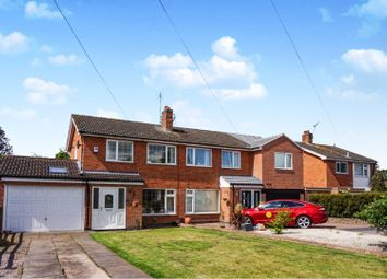 Thumbnail 4 bed semi-detached house for sale in Keble Drive, Syston