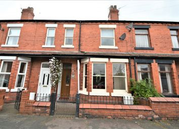 Thumbnail 3 bed terraced house to rent in Warburton Street, Stockton Heath, Warrington