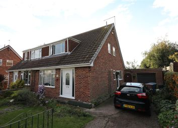 Thumbnail 3 bed semi-detached house for sale in Forge Close, Thorngumbald, Hull