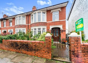 Thumbnail 3 bed end terrace house for sale in Pantbach Road, Rhiwbina, Cardiff