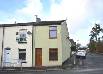 Thumbnail 2 bedroom end terrace house to rent in St. Johns Road, Chew Moor